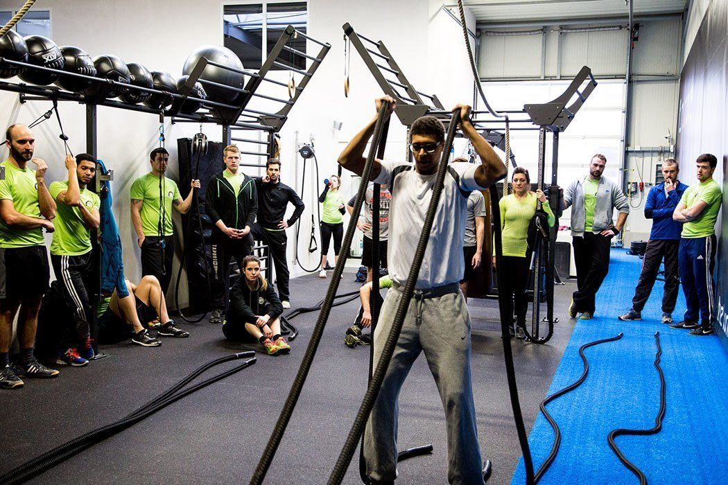 aerobis shares knowhow with Outdoor Gym 3