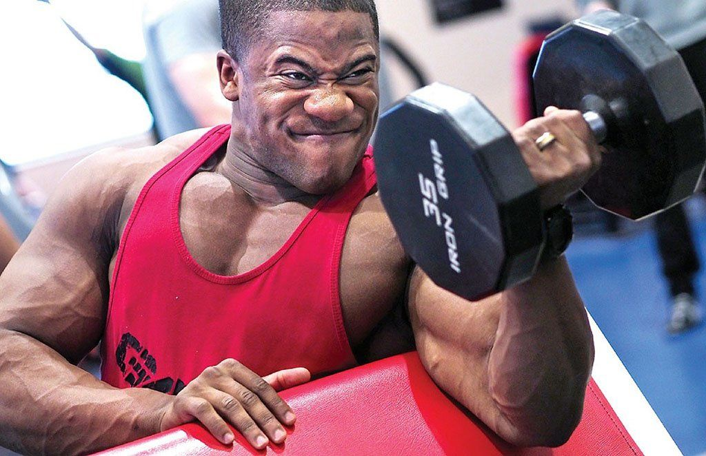 Biceps Curl muscle growth
