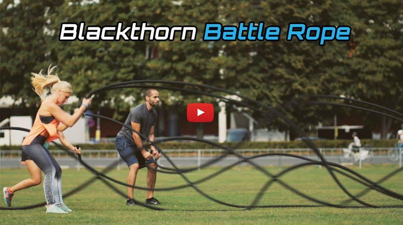 blackthorn Battle Rope » Intensive training