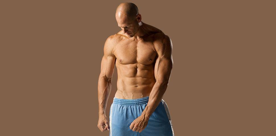 Sixpack with anabolics?