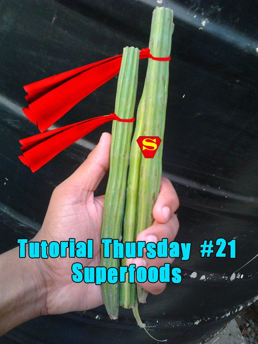 Tutorial Thursday 21  superfoods 1