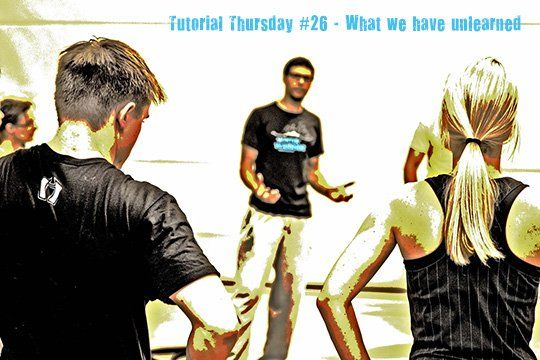 Tutorial Thursday 26  What we have unlearned 1